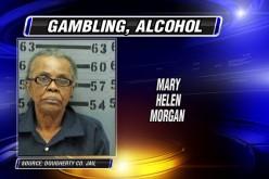 90-årig kvinde anholdt for at hoste ulovligt homegame