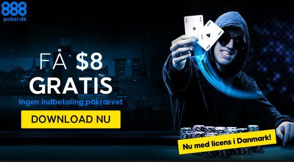 Husk: $1.000 added i PokerNet.dk-turnering på 888 klokken 20.15 i aften