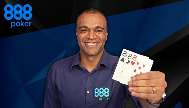 888Poker skriver med brasiliansk superstjerne: – Alle mine venner begyndte at spille poker