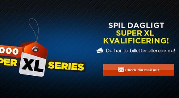 888Poker: Kvalificér dig til Super XL Series gratis