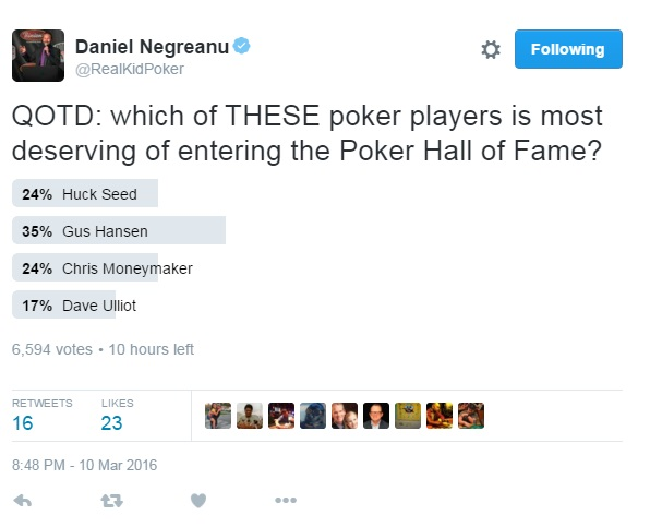DNegs poll Gus Hansen
