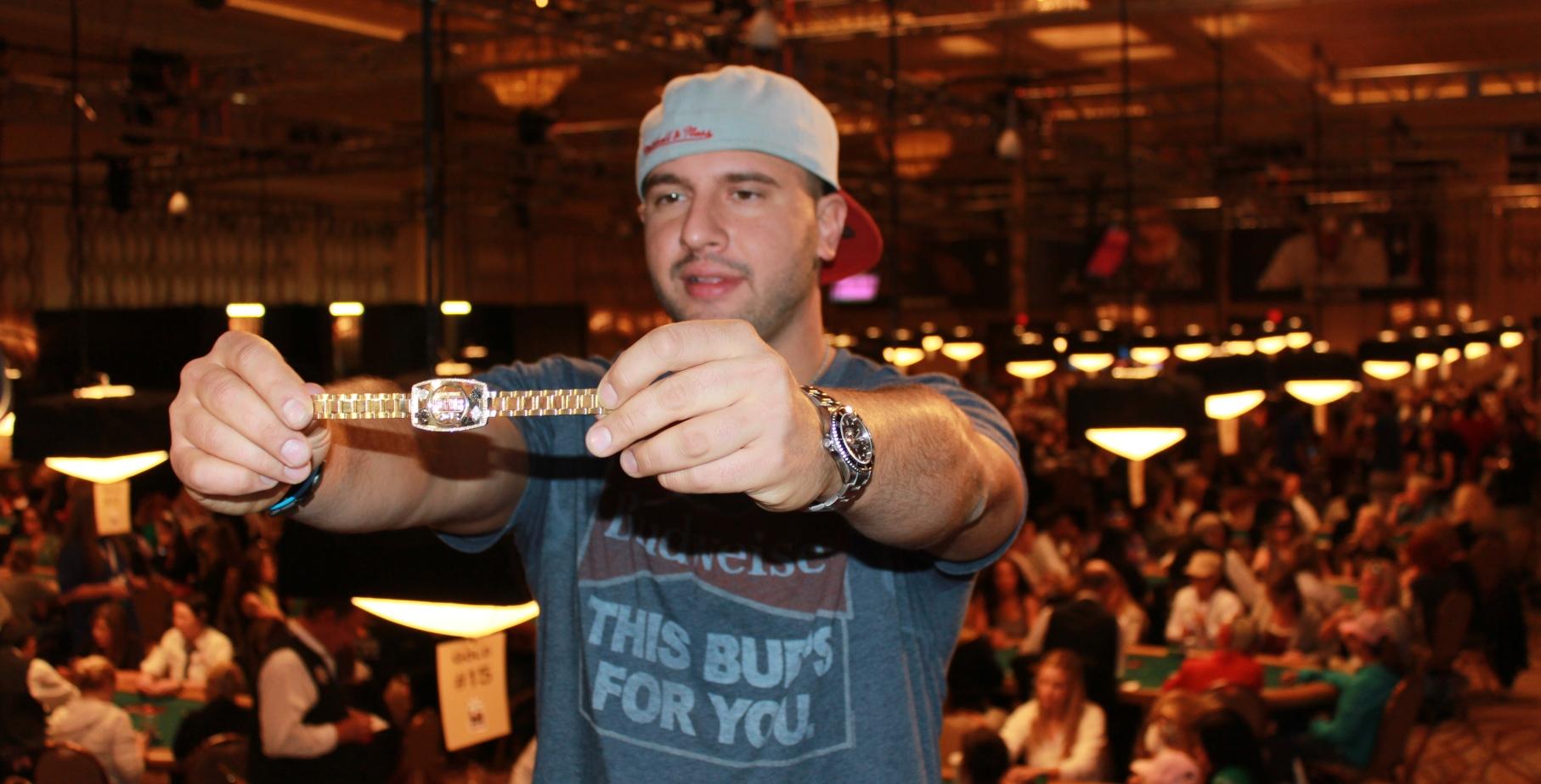 Grinder - top wsop bracelet