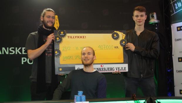 Jakob Tøstesen vinder Danske Spil MPT 2016