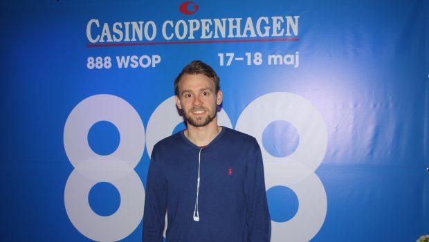"""Vegas-debutant vandt 888-pakke: """"Skal lige have grønt lys på hjemmefronten"""""""