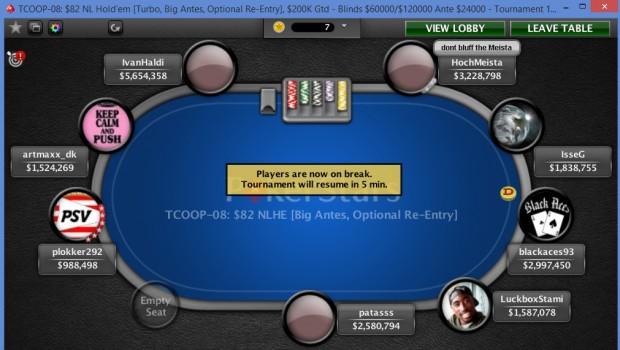 """PokerStars: """"Russisk TCOOP-2'er var ikke en maskine"""""""