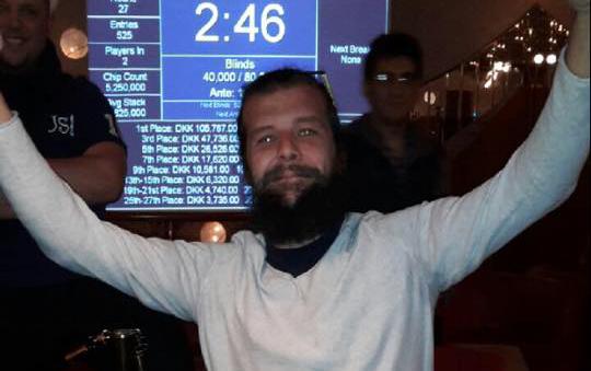 Casino Copenhagens forårsturnering endte i norsk triumf