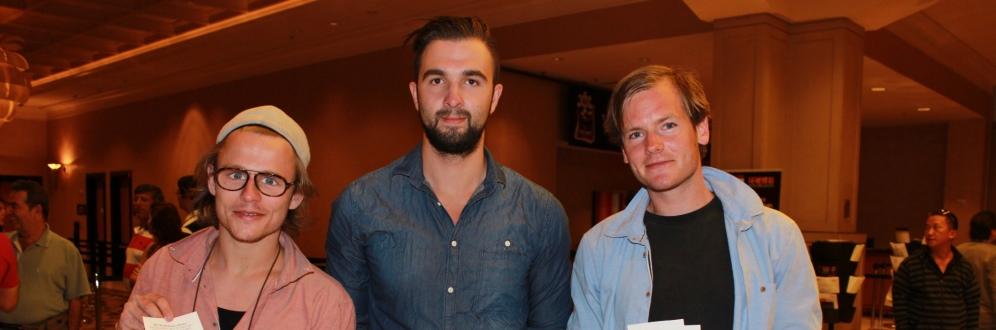 Rune, Tjepan og Morten staket wsop TOP