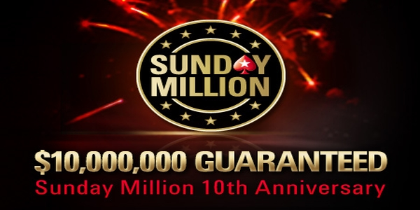 Sunday Million jubilæum 10 år
