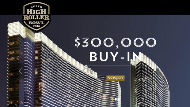 $300.000 Super High Roller Bowl udsolgt tre måneder før starten