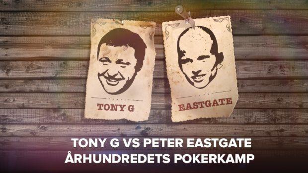 Vind plads på mandag: Spil mod Eastgate og Tony G om €2.000