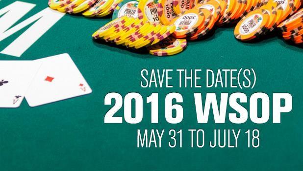 69 armbånd på spil: WSOP offentliggør årets program