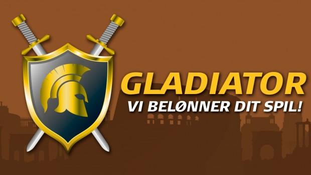 Danske Spil: Vind ekstra kontanter med The Gladiator