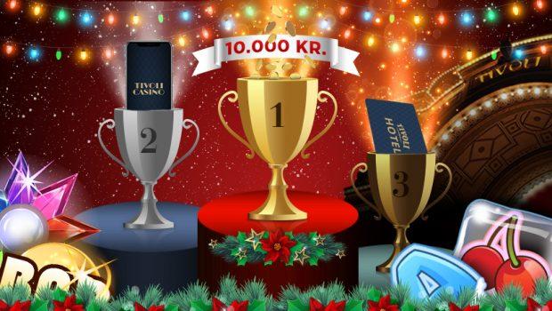 Skyd julen i gang med stor casinoturnering – Præmier for 30.000 kroner!
