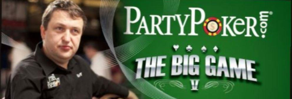 partypoker big game tony g